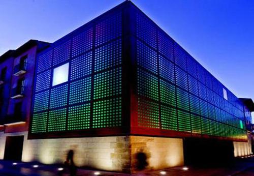 Edificio del Centro de la Cultura del Rioja en Logroño