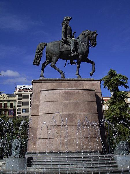 El Parque del Espolón en Logroño