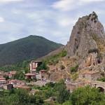 De paseo por Anguiano en La Rioja