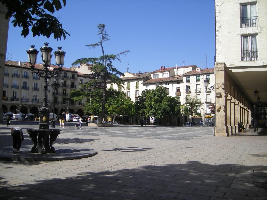 Plazas y jardines de Logroño