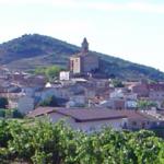 el pueblo de Ventosa en La Rioja