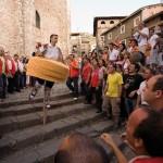La danza de los zancos en La Rioja
