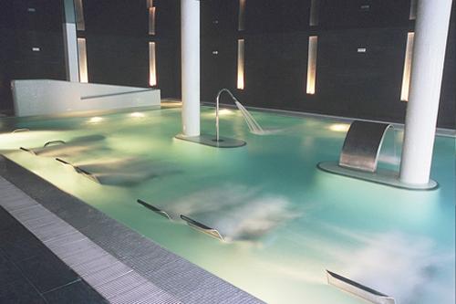 Balneario Arnedillo, piscina activa