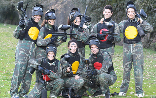 activo paintball