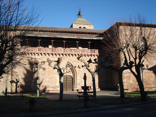 ezcaray iglesia santa maria